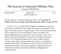 Journal of America's Military Past.
